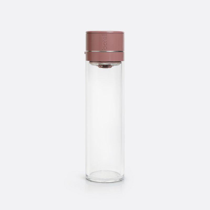 Botell smart water bottle app burnt plum