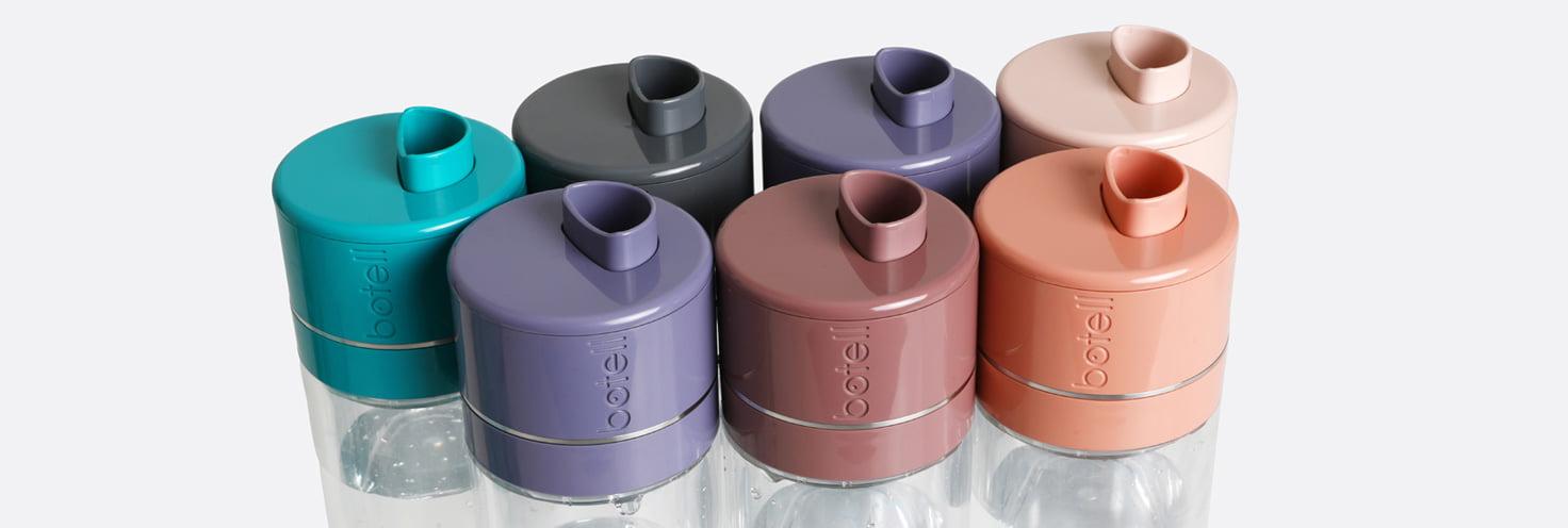 Botell range of smart water bottles