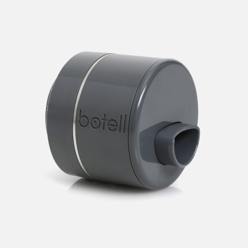 Botell smart water bottle app slate grey